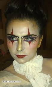 pretty halloween eye makeup court jester makeup female jester pinterest jester makeup