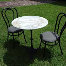 Cast Iron Bistro Chairs Find More Reduced Marble Top Bistro Table With Cast Iron Base And