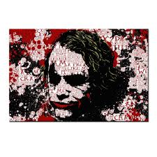 joker and harley poster canvas wall decor home decoration creative