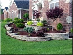 one can only dream landscape sloped lawn landscape design