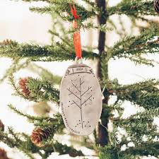 family tree ornament pewter