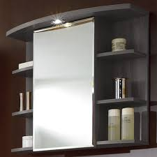 bathroom cabinets hemnes high cabinet with mirror door white