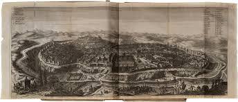 Study Of Maps Olfert Dapper U2013 Study Of Syria And Palestine U2013 Amsterdam 1677