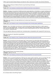 How To Title A Resume M E Computer Science Data Mining Projects
