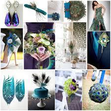 peacock themed wedding peacock themed weddings