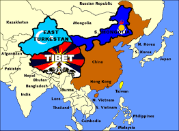 Turkestan Map The Nations Of High Asia U0027 A Separatist Map Of China Source In