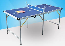 portable table tennis table junior table tennis table 5 20mm frame size easy install portable