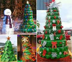 how to make christmas tree from tires pictures photos and images