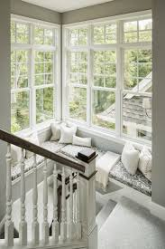 Windows For House by Window Seat On Staircase Landing Love Having Tons Of Windows For