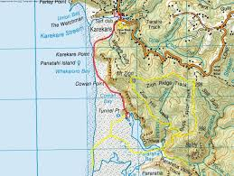 Maps For Directions New Year Karekare Hike Tunnel Point Camp Option Auckland