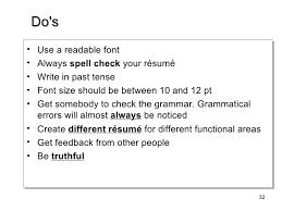 Resume Current Job by Cv Writing Workshop