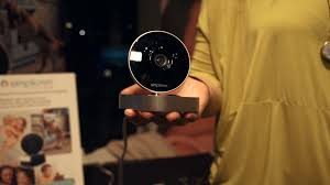 wi fi security cam simplicam can detect faces cutting down on