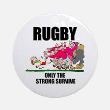 rugby ornament cafepress