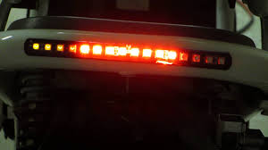 led light strip turn signal ruckus led tail light strip with integrated turn signals youtube