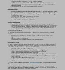 Job Resume Bilingual by Part Time Bilingual Family Advocate Ywca Sonoma County