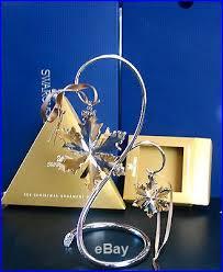 gold ornament set w stand 2014 swarovski