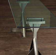 industrial glass dining table 30 best glass dining tables images on pinterest dining tables
