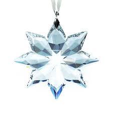 Swarovski Christmas Snowflake Ornaments by Swarovski Little Star Ornament