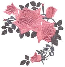 antique roses embroidery designs machine embroidery designs at