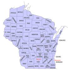 wisconsin map county wisconsin state map