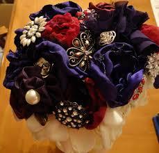 Fake Flowers My Camera My My Diy Fabric Flower Brooch Bouquet Fail Weddingbee