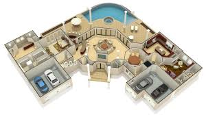 rendered floor plans property 10