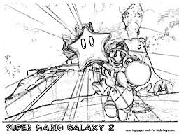 super mario galaxy coloring pages mario galaxy coloring pages