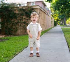 Easter Clothes For Baby Boy Baby Boy Wedding Linen Shortall For Boys Toddler