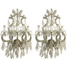 Glass Wall Sconce Candle Holder Lighting Light Sconces Large Foyer Chandeliers Electric Wall