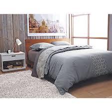 Cb2 Duvet Dondra Teak Queen Bed Bedrooms Queen Beds And Apartment Ideas
