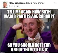 Gary Meme - oh gary johnsons got the memes fellowkids