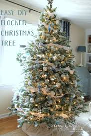flocked christmas tree what is a flocked christmas tree diy flocked tree thrifty