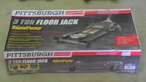 Arcan Car Jack by 3 Ton Floor Jack Pittsburgh Harbor Freight Youtube