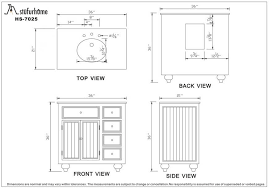 Kitchen Cabinet Height Standard Amazing What Is The Standard Height Of A Bathroom Vanity Vessel