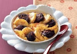 cuisiner des pommes recette clafoutis de boudin aux pommes