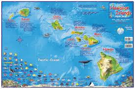 map of hawaii island hawaiian island chain map franko s fabulous maps of