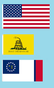 Gadson Flag Image 50 Star American Flag With Gadsden Flag And South Carolina