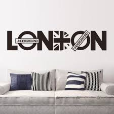 Home Decor London by Online Get Cheap Home Decor Wall Sticker London Aliexpress Com