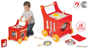 cuisine bois enfant janod chariot de cuisine the cocotte jouet en bois janod janod