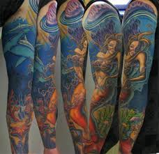 sleeve colorful tribal ideas for for