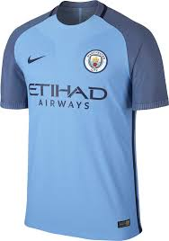 manchester city u0027s 16 17 home kit boasts the new club logo in a
