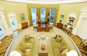 Oval Office Drapes When Donald Trump Gets Sworn In The White House Is In Line For A