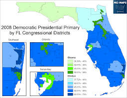 Map Of Florida Panhandle by Florida Primary Preview U2013 Mci Maps