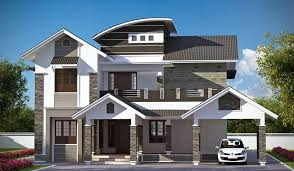 modern two story 4 bedroom house 2666 sq ft kerala home plans