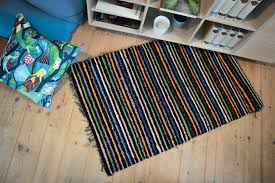 Swedish Plastic Woven Rugs Rugs Of Sweden The Original Vintage Rag Rugs For Sale