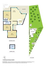 sanctuary floor plans 1 sanctuary avenue avalon beach nsw 2107
