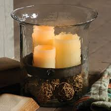 kalalou glass candle hurricanes and candle holders from