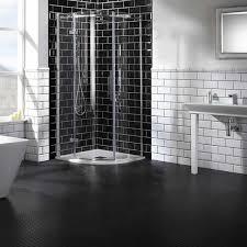 aquaglass elegance 8mm single door quadrant shower enclosure