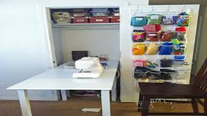 Closet Craft Room - stunning ideas for sewing room design photos home design ideas