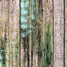 wooden planks painted with brown paint cracked by a rustic